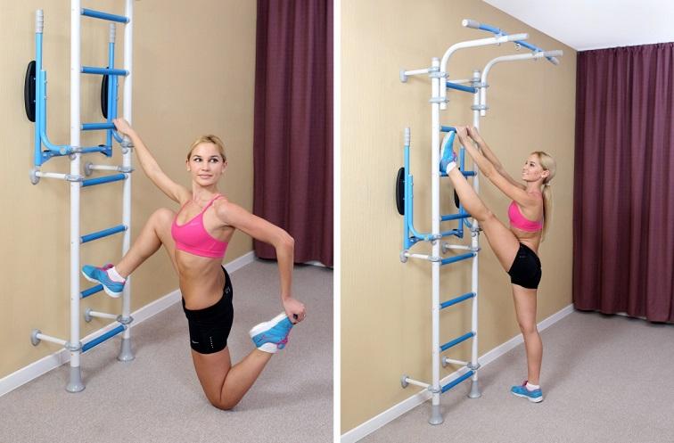 упражнения на растяжку в домашних условиях на Wallbarz Fitness