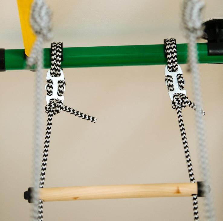 Установка дополнительного оборудования на шведскую стенку