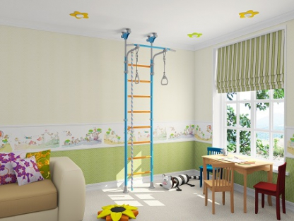 Элитная шведская стенка для дома Wallbarz Family