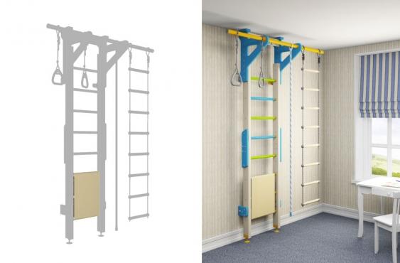 Ограничитель для лестницы Wallbarz Stopper L - 3D модель