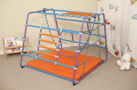 Шведская стенка для детей от года в квартиру - общий план