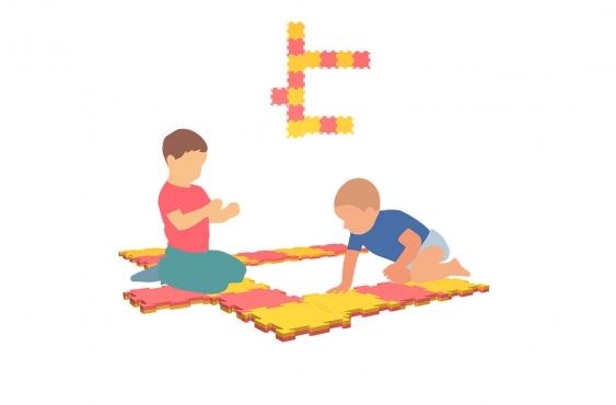 Мат пазл Wallbarz Puzzle Mat 15