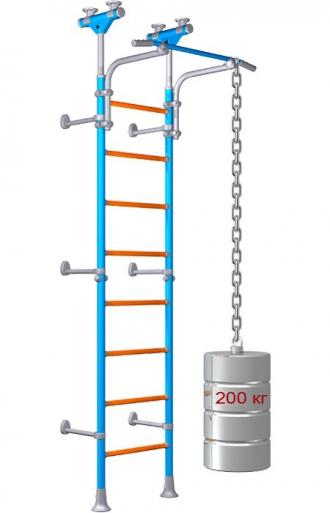 Шведская стенка с нагрузкой 250 кг  -миф