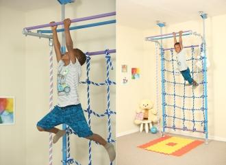 Упражнения для профилактики нарушения осанки на шведской стенке Wallbarz