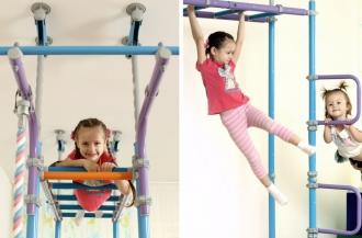 Развитие выносливости у детей на шведской стенке Wallbarz