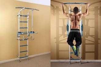Как укрепить спину в домашних условиях на шведской стенке