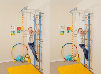 Развитие силы у детей с Wallbarz Fun