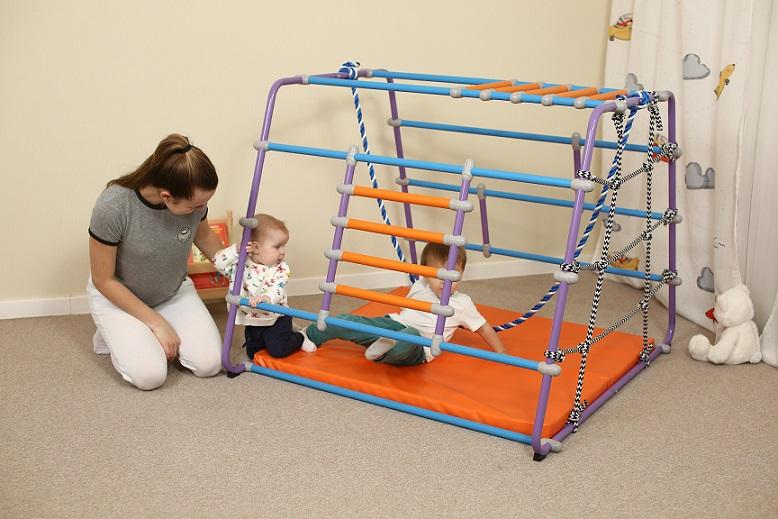 Детский домашний спортивный комплекс для малышей своими руками 99