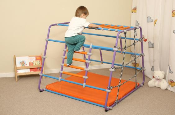 Babybarz и подвижные игры для детей 2-3 лет на нем